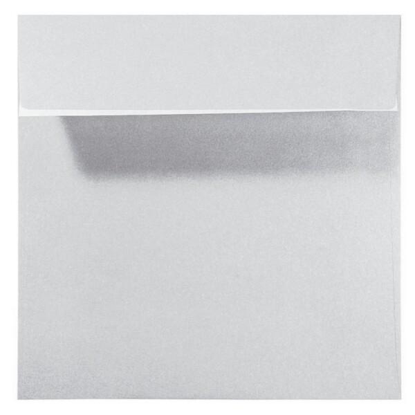 Artoz Perle - 'Silver' Envelope. 160mm x 160mm 120gsm Square Peel/Seal Envelope.