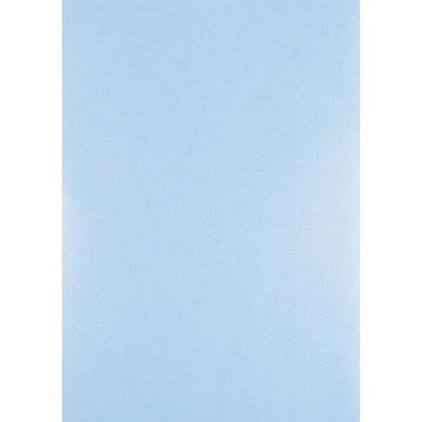 Artoz Perle - 'Water Blue' Card. 210mm x 297mm 250gsm A4 Card.