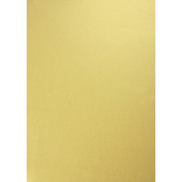 Artoz Perle - 'Gold' Card. 210mm x 297mm 250gsm A4 Card.