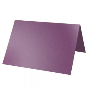 Artoz Klondike - 'Amethyst' Card. 132mm x 103mm 250gsm A7 Place Card.