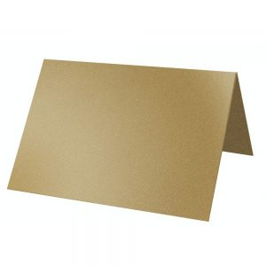 Artoz Klondike - 'Leaf Gold' Card. 132mm x 103mm 250gsm A7 Place Card.