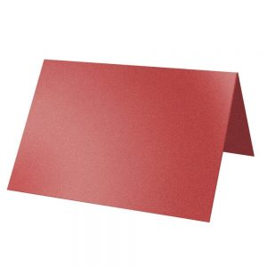 Artoz Klondike - 'Ruby' Card. 132mm x 103mm 250gsm A7 Place Card.