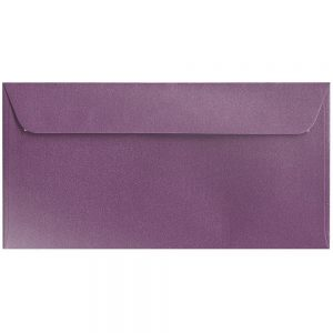 Artoz Klondike - 'Amethyst' Envelope. 224mm x 114mm 120gsm DL Peel/Seal Envelope.