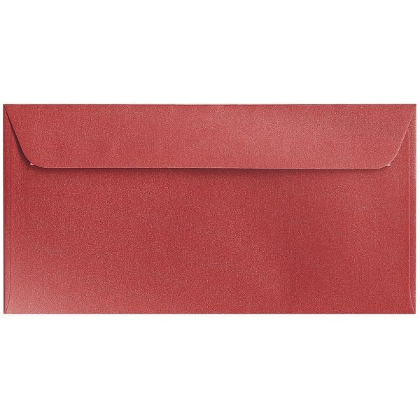 Artoz Klondike - 'Ruby' Envelope. 224mm x 114mm 120gsm DL Peel/Seal Envelope.