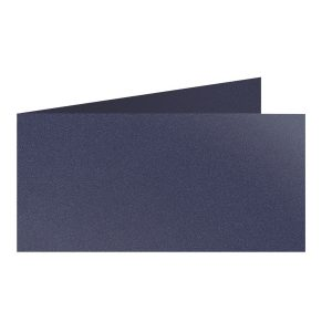 Artoz Klondike - 'Sapphire' Card. 420mm x 105mm 250gsm DL Bi-Fold (Short Edge) Card.