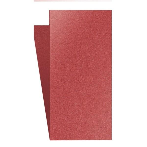 Artoz Klondike - 'Ruby' Card. 420mm x 105mm 250gsm DL Bi-Fold (Short Edge) Card.
