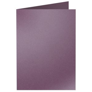 Artoz Klondike - 'Amethyst' Card. 240mm x 169mm 250gsm B6 Bi-Fold (Long Edge) Card.