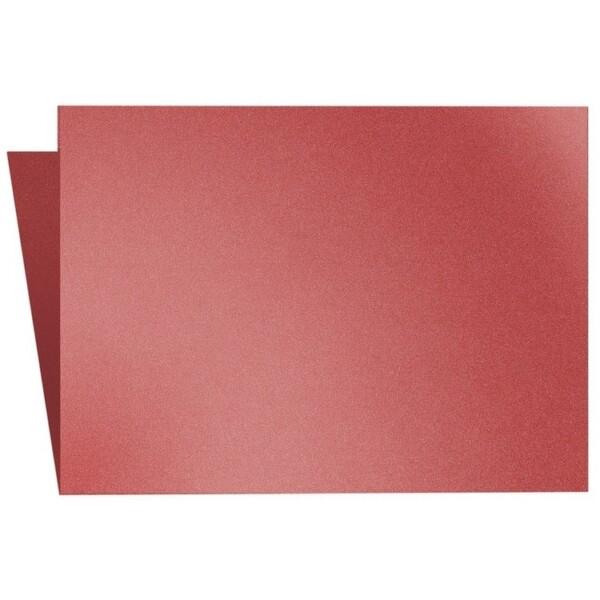 Artoz Klondike - 'Ruby' Card. 250mm x 180mm 250gsm E6 Bi-Fold (Long Edge) Card.