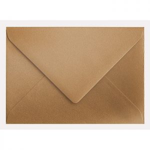 Artoz Klondike - 'Dark Gold' Envelope. 191mm x 135mm 120gsm E6 Gummed Envelope.
