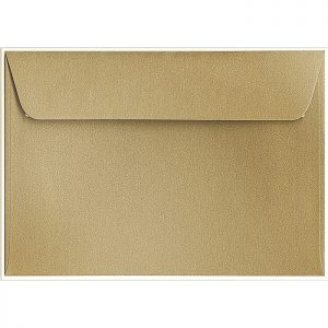 Artoz Klondike - 'Leaf Gold' Envelope. 229mm x 162mm 120gsm C5 Peel/Seal Envelope.