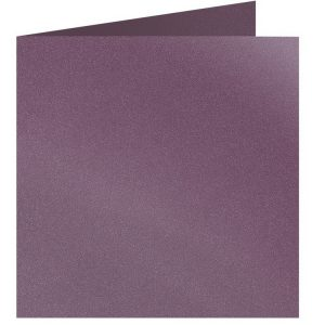 Artoz Klondike - 'Amethyst' Card. 310mm x 155mm 250gsm Square Folded Card.