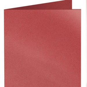 Artoz Klondike - 'Ruby' Card. 310mm x 155mm 250gsm Square Folded Card.