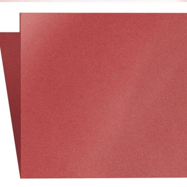 Artoz Klondike - 'Ruby' Card. 310mm x 155mm 250gsm Square Folded Card.