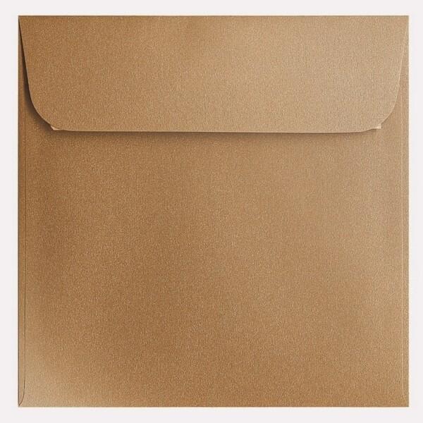 Artoz Klondike - 'Dark Gold' Envelope. 160mm x 160mm 120gsm Square Peel/Seal Envelope.
