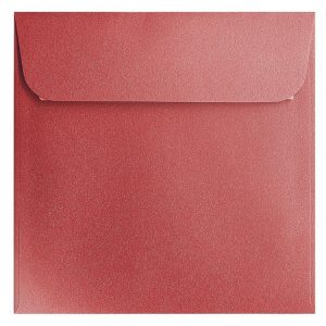 Artoz Klondike - 'Ruby' Envelope. 160mm x 160mm 120gsm Square Peel/Seal Envelope.