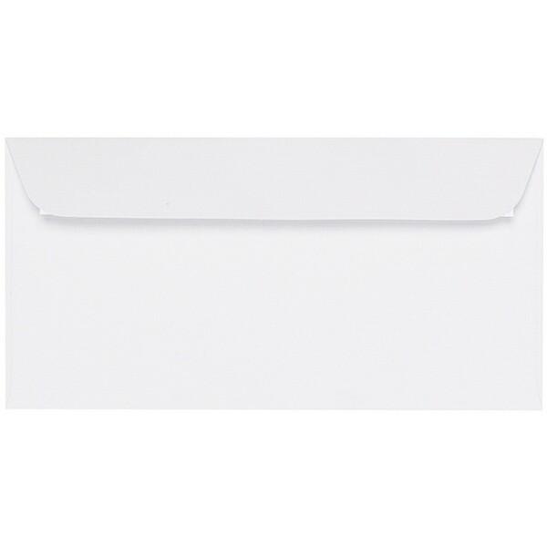 Artoz Zand - 'White' Envelope. 224mm x 114mm 135gsm DL Peel/Seal Envelope.