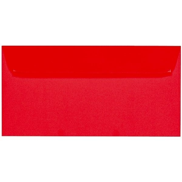 Artoz Zand - 'Red' Envelope. 224mm x 114mm 135gsm DL Peel/Seal Envelope.