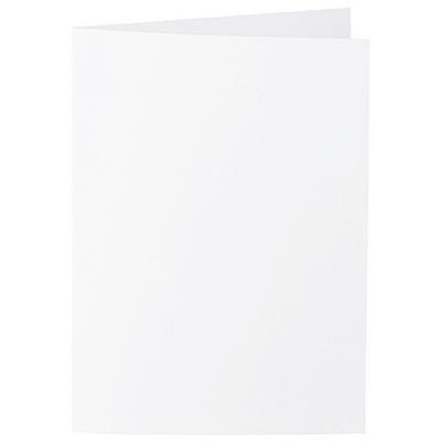 Artoz Zand - 'White' Card. 210mm x 148mm 270gsm A6 Folded (Long Edge) Card.