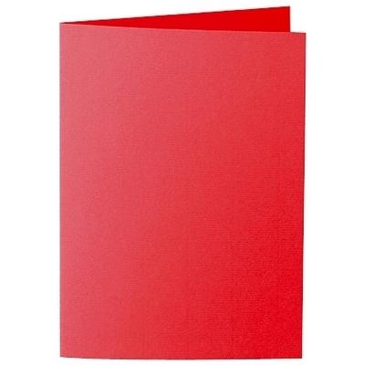 Artoz Zand - 'Red' Card. 210mm x 148mm 270gsm A6 Folded (Long Edge) Card.