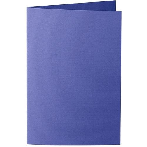 Artoz Zand - 'Indigo' Card. 240mm x 169mm 270gsm B6 Bi-Fold (Long Edge) Card.