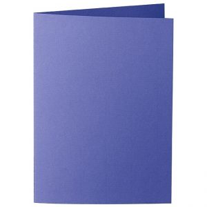 Artoz Zand - 'Indigo' Card. 297mm x 210mm 270gsm A5 Folded (Long Edge) Card.