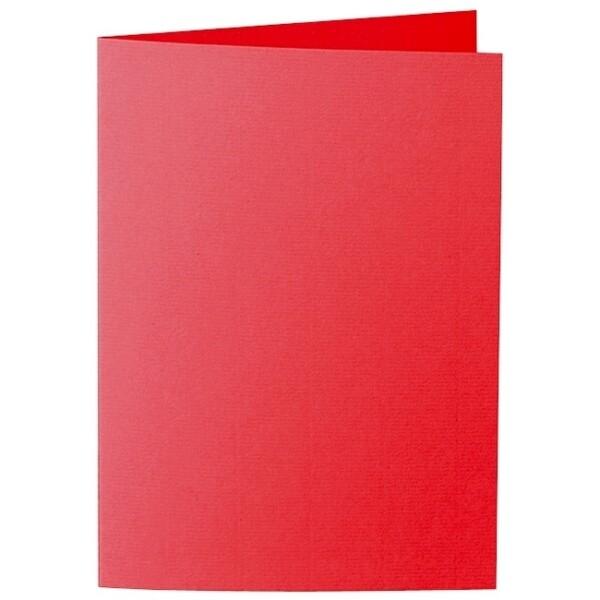Artoz Zand - 'Red' Card. 297mm x 210mm 270gsm A5 Folded (Long Edge) Card.
