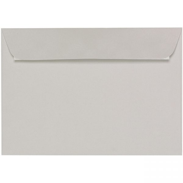 Artoz Zand - 'Grey' Envelope. 229mm x 162mm 135gsm C5 Peel/Seal Envelope.