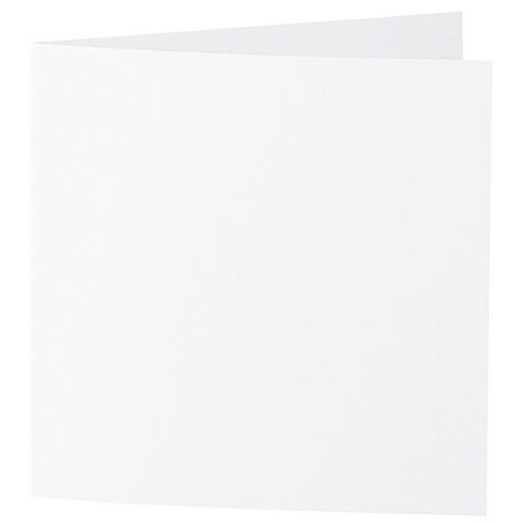 Artoz Zand - 'White' Card. 310mm x 155mm 270gsm Square Folded Card.