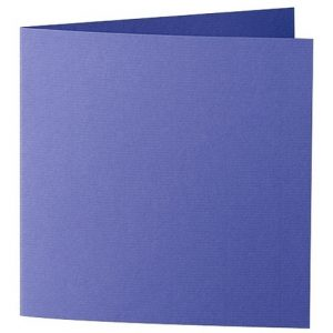 Artoz Zand - 'Indigo' Card. 310mm x 155mm 270gsm Square Folded Card.