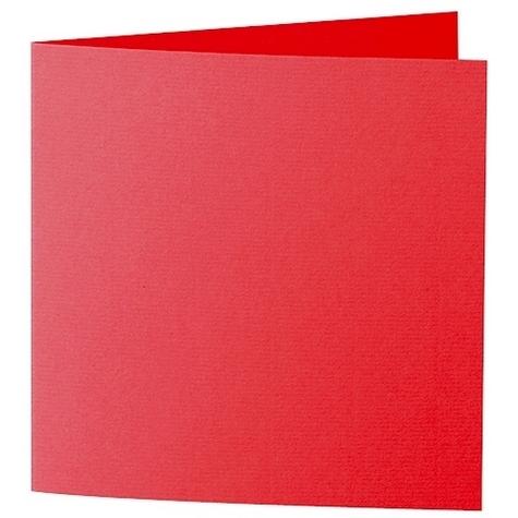 Artoz Zand - 'Red' Card. 310mm x 155mm 270gsm Square Folded Card.