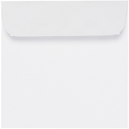 Artoz Zand - 'White' Envelope. 160mm x 160mm 135gsm Square Peel/Seal Envelope.