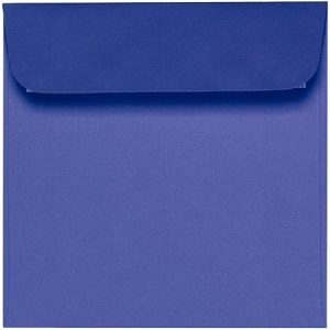 Artoz Zand - 'Indigo' Envelope. 160mm x 160mm 135gsm Square Peel/Seal Envelope.