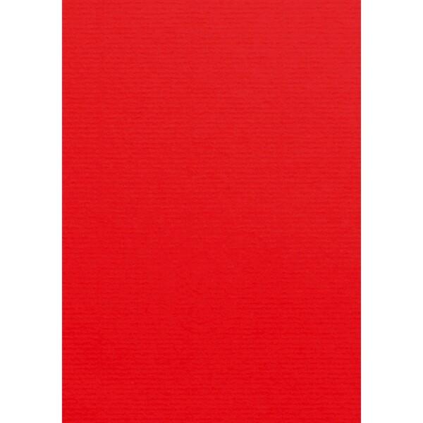 Artoz Zand - 'Red' Card. 210mm x 297mm 270gsm A4 Card.