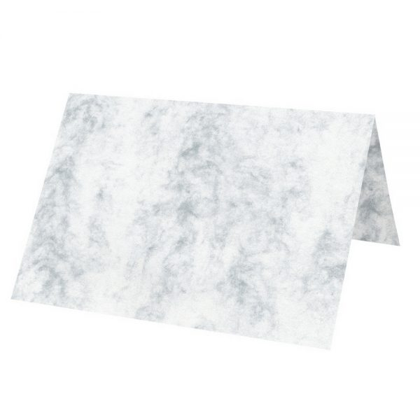 Artoz Antiqua - 'Grey' Paper. 100mm x 90mm 90gsm Place Card Paper.