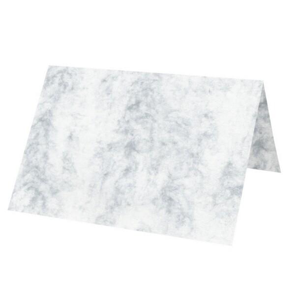 Artoz Antiqua - 'Grey' Card. 131mm x 103mm 200gsm A7 Place Card.