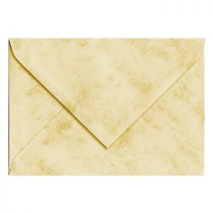 Artoz Antiqua - 'Cream' Envelope. 110mm x 75mm 90gsm C7 Gummed Envelope.
