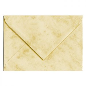 Artoz Antiqua - 'Cream' Envelope. 140mm x 90mm 90gsm B7 Gummed Envelope.
