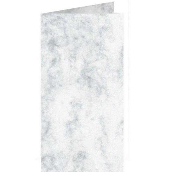 Artoz Antiqua - 'Grey' Card. 210mm x 210mm 200gsm DL Bi-Fold (Long Edge) Card.