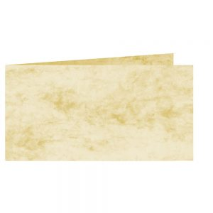 Artoz Antiqua - 'Cream' Card. 420mm x 105mm 200gsm DL Bi-Fold (Short Edge) Card.