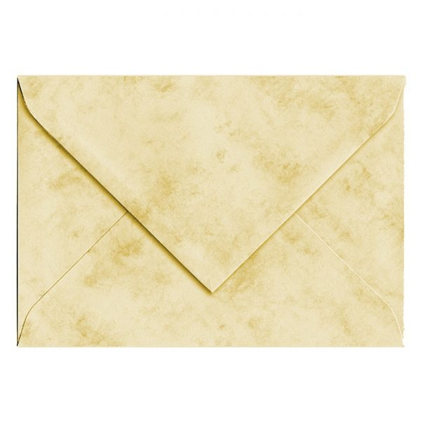 Artoz Antiqua - 'Cream' Envelope. 162mm x 114mm 90gsm C6 Lined Gummed Envelope.
