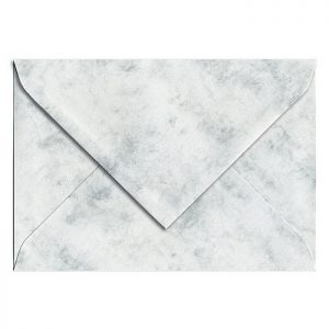 Artoz Antiqua - 'Grey' Envelope. 162mm x 114mm 90gsm C6 Lined Gummed Envelope.