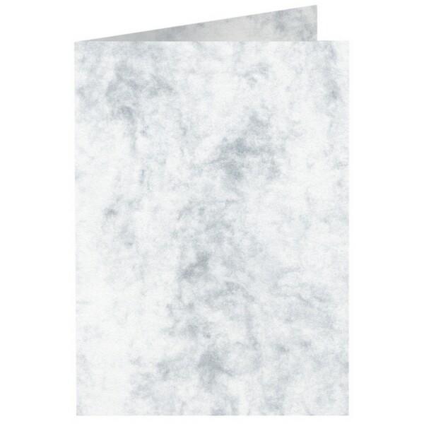Artoz Antiqua - 'Grey' Card. 240mm x 169mm 200gsm B6 Bi-Fold (Long Edge) Card.