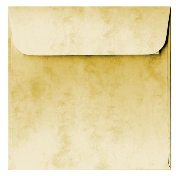 Artoz Antiqua - 'Cream' Envelope. 160mm x 160mm 90gsm Square Peel/Seal Envelope.