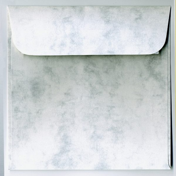 Artoz Antiqua - 'Grey' Envelope. 160mm x 160mm 90gsm Square Peel/Seal Envelope.